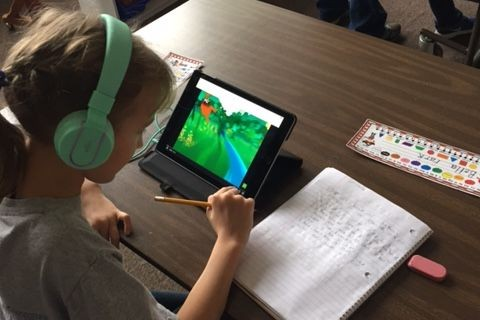 2nd Graders Using Technology to Enhance Writing